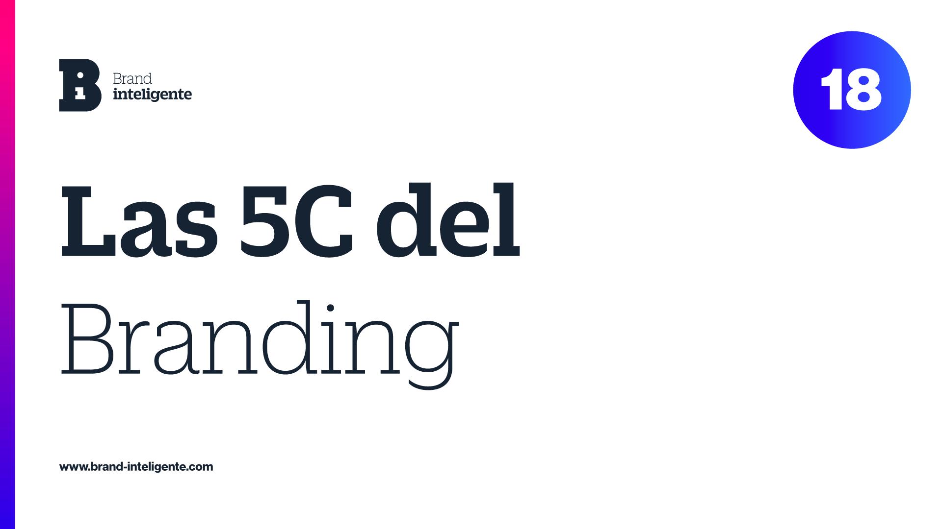 Las 5C del Branding