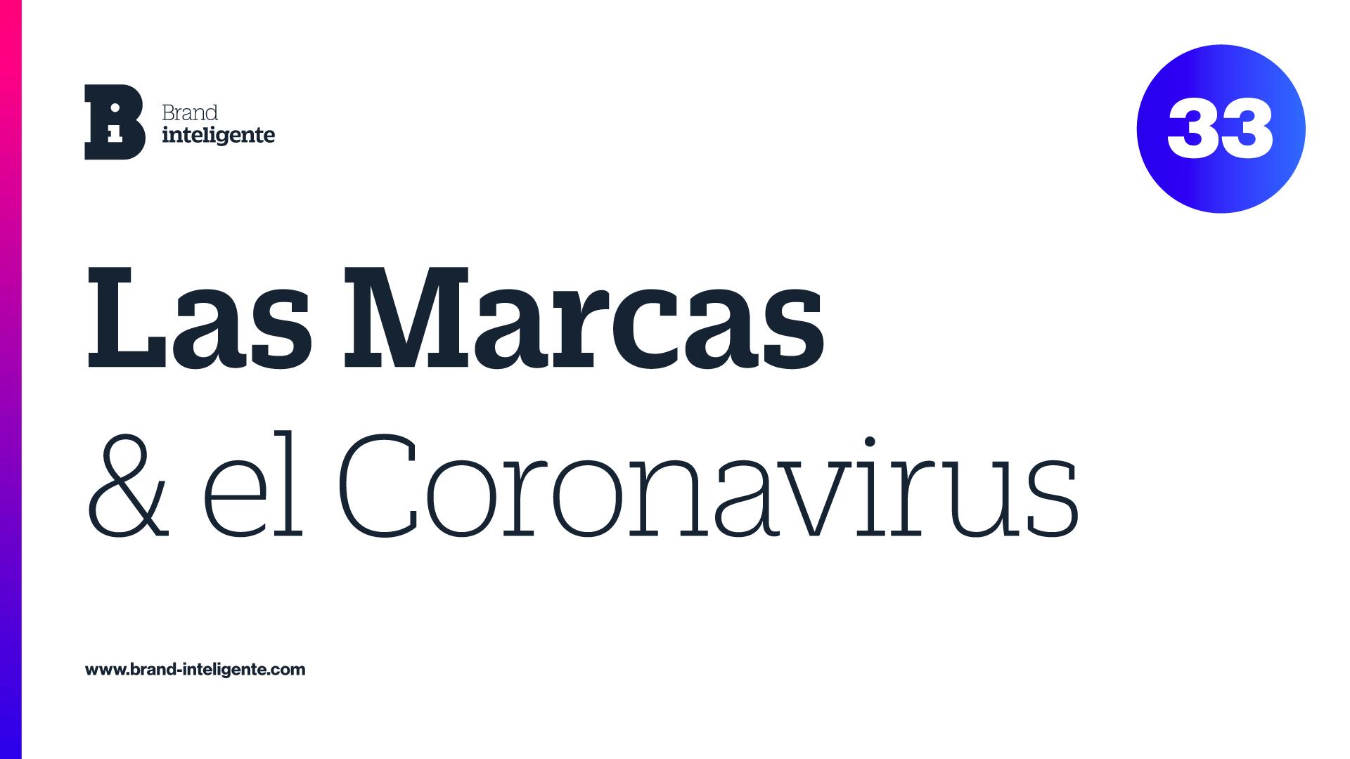 Las Marcas y el Coronavirus