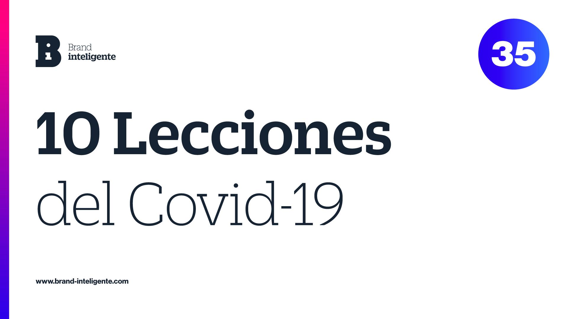 10 Lecciones del Covid-19
