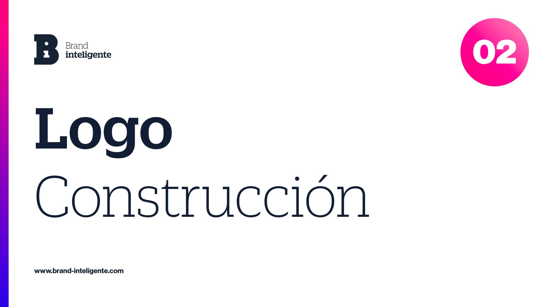 Construcción de logo