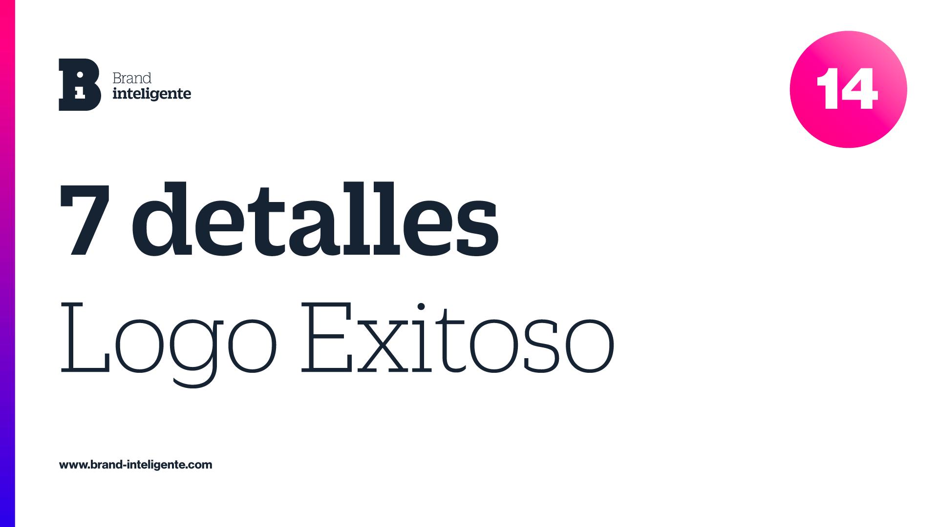 Logo Exitoso: 7 Detalles