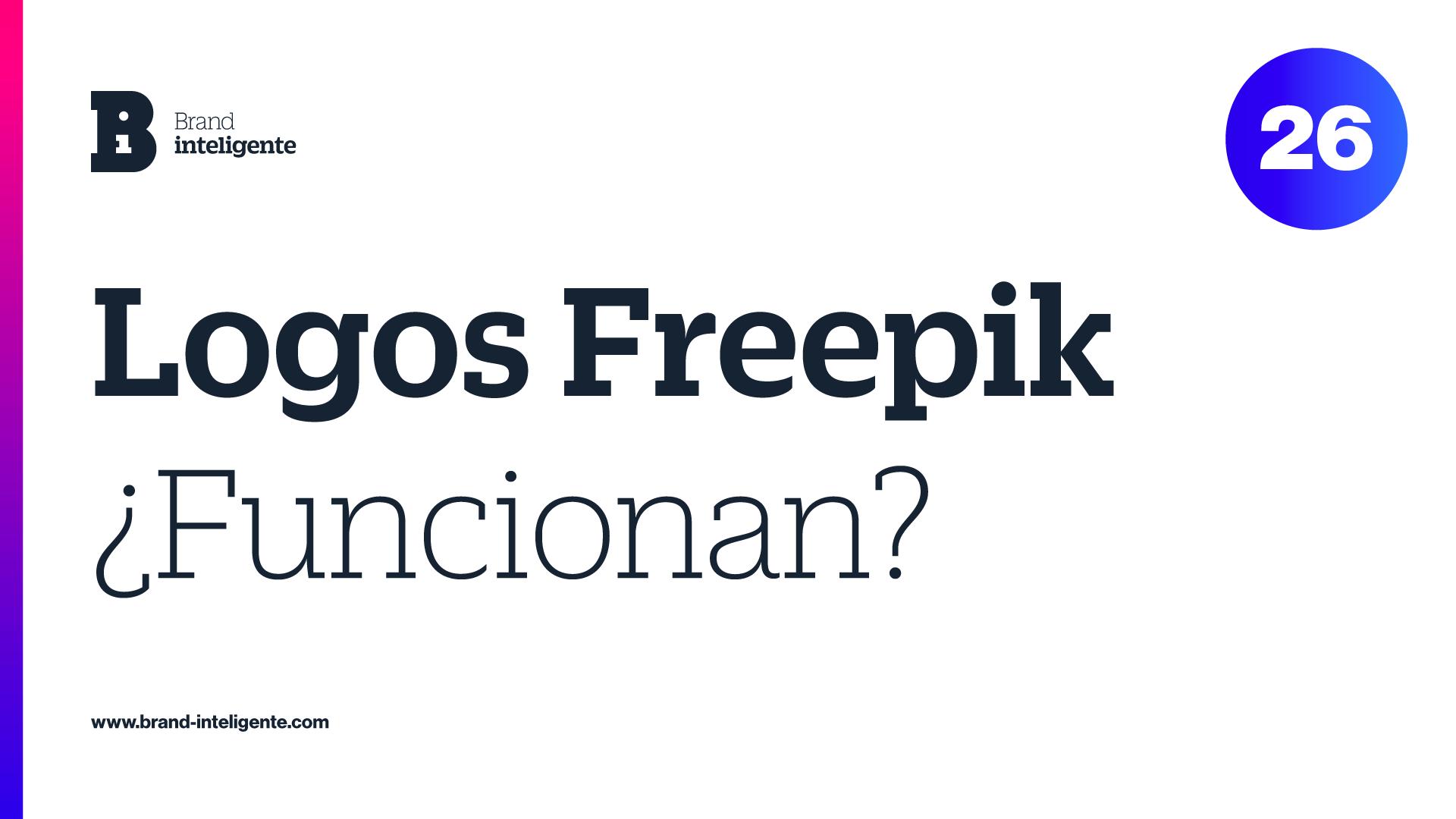 Logos Freepik ¿Funcionan?
