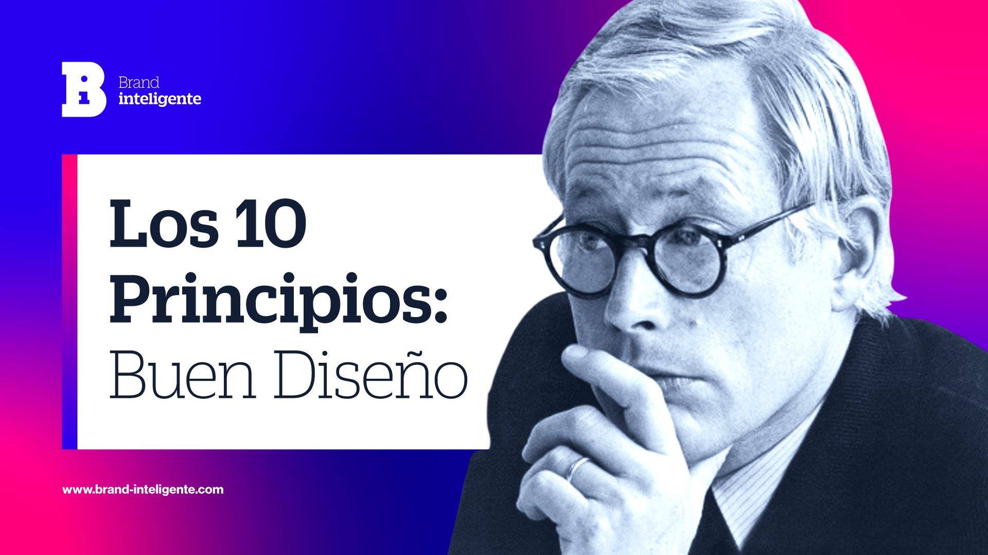 Dieter Rams: 10 Principios del buen diseño