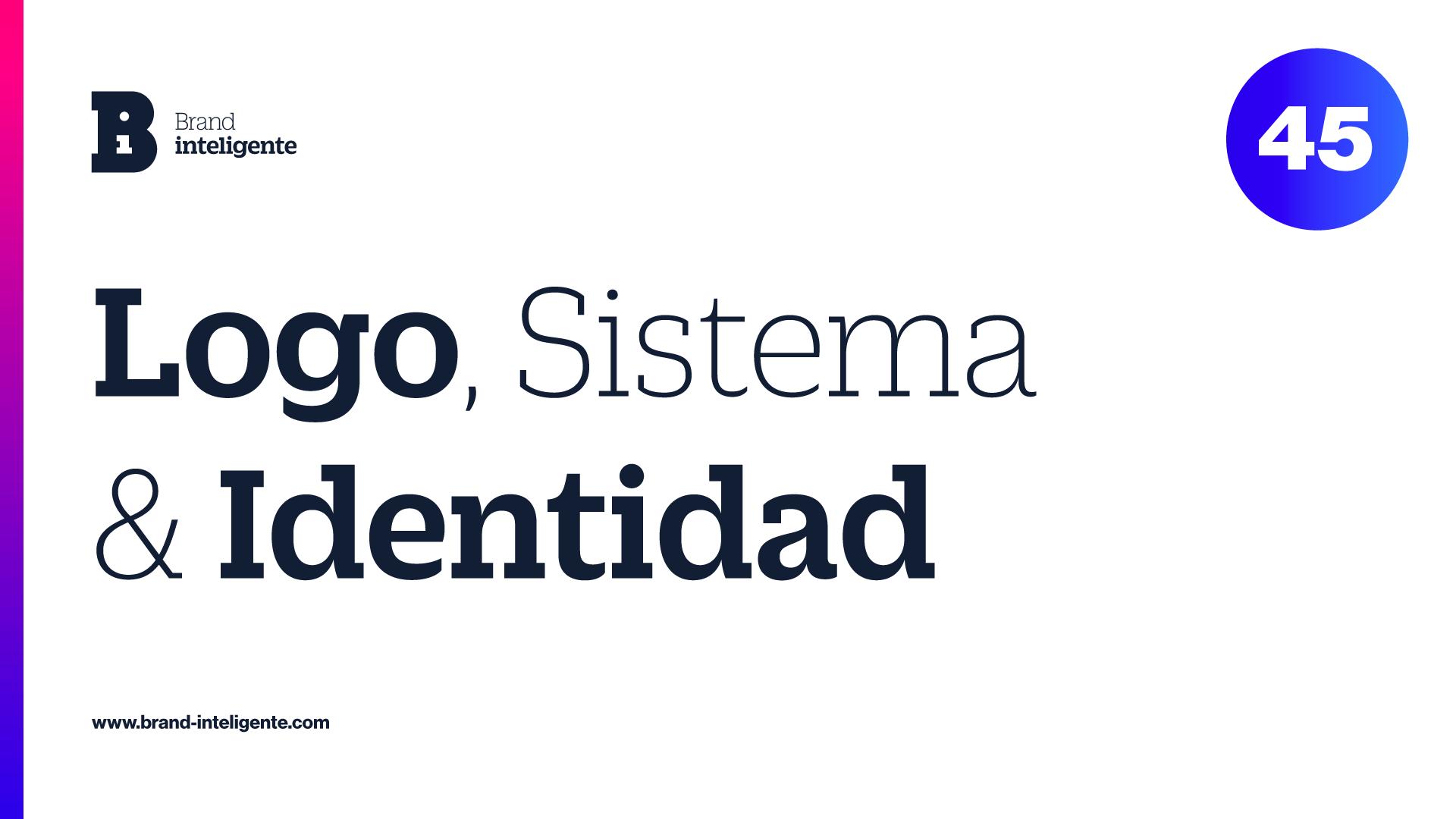 Logo, Identidad Visual & Sistema de Marca